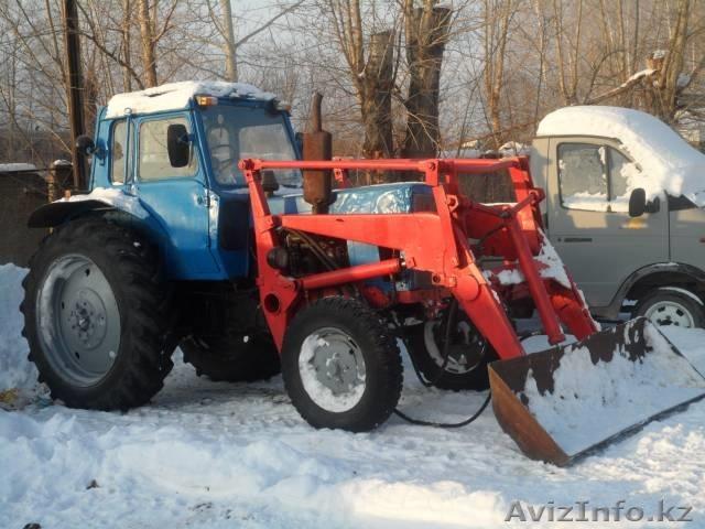 новые трактора мтз