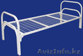 Железные армейские кровати, одноярусные металлические кровати для больниц, опт. - Изображение #3, Объявление #1418621